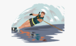 Webster Water Ski Collective Logo